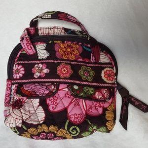 Vera Bradley Audrey Mini Purse Bowler Mod Floral